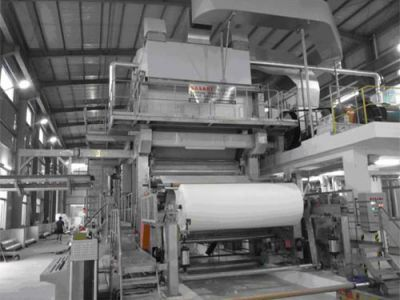 Tissue paper industry production line